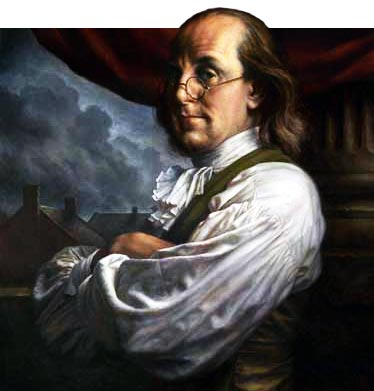 Benjamin Franklin author of Poor Richard's Almanack